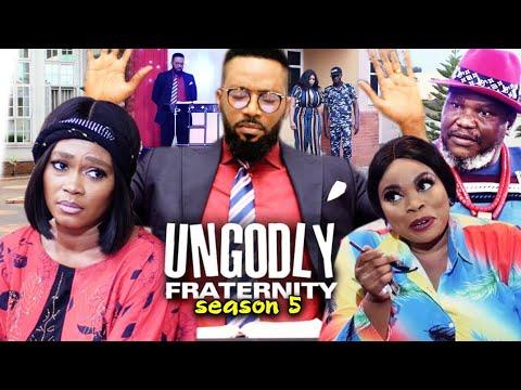 UNGODLY FRATERNITY SEASON 5-(Trending New Movie)Fredrick Leonard 2021 Latest Nigerian  Movie Full HD