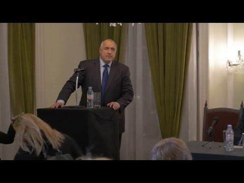 Пълен запис на срещата на Бойко Борисов с българската общност в Англия