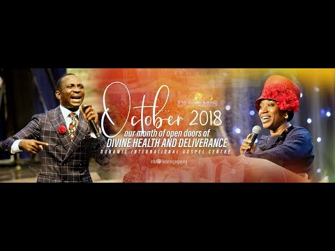 OCTOBER 2018 ANOINTING SERVICE. 14-10-18
