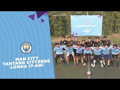 Video: Man City Tantang Cityzens Lomba 17-an!