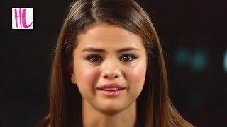 Selena Gomez Breaks Down In Tears