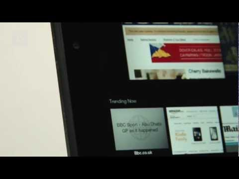 Amazon Kindle Fire HD review video