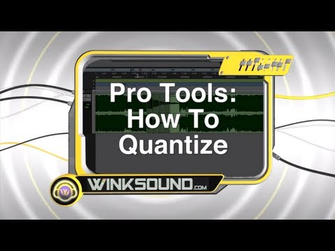 Pro Tools: How to Quantize | WinkSound