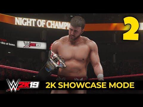 WWE 2K19 - 2K SHOWCASE - Ep 2 - UNITED STATES CHAMPIONSHIP!!