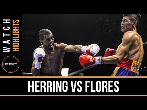 pbc on fs1: jamel herring vs luis eduardo flores - highlights