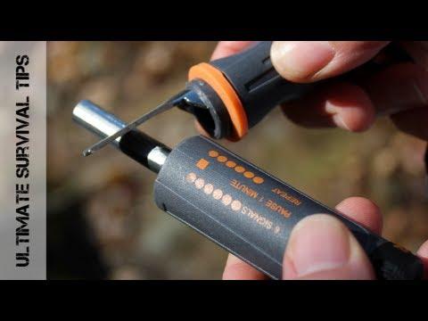 NEW - Gerber Bear Grylls Fire Starter - REVIEW & Fire Making Test - Best Fire Starter & Waterproof?