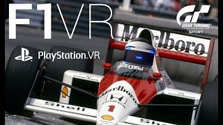 F1 Playstation VR Japanese GP SENNA Lap Recreation