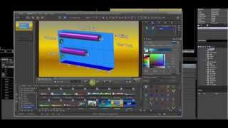 EDIUS 7 & VisTitle Nonlinear Title Effect Software by Videostar