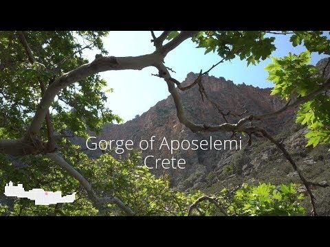 Video - Φαράγγι Αποσελέμη: Εκεί όπου ο νους χαλαρώνει και η καρδιά χτυπά πιο δυνατά