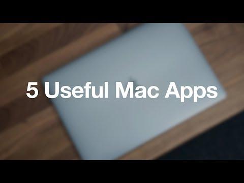 5 Useful Mac Apps - April 2018