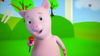 Orang tua ini | Sajak untuk anak-anak | Lagu bayi | Kids Rhymes | 3D Nursery Songs | This Old Man Video