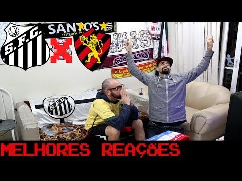 REAÇÕES: Santos 0 x 1 Sport - Brasileirão - OS RIVAIS