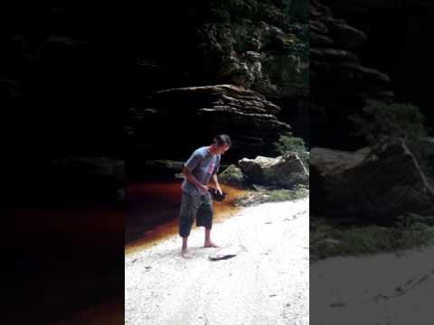 Cachoeira do andorinhão, Morro do Pilar