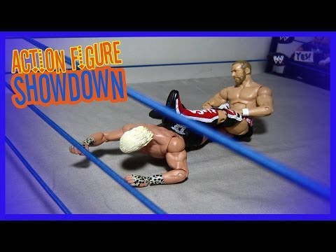 WWE Action figure Video ! Daniel Bryan take on Dolph Ziggler