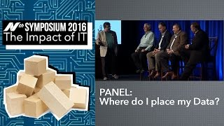 Nth Symposium 2016: Panel – Where Do I Place my Data? video