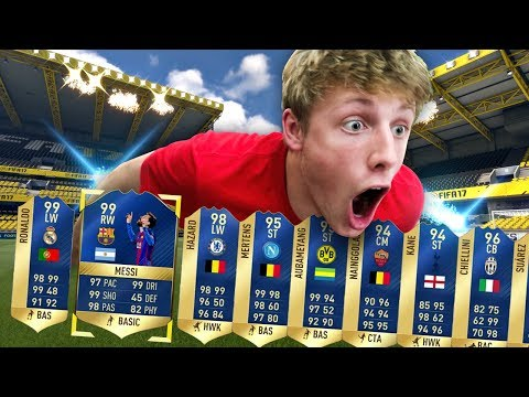 THE LUCKIEST TOTS PACK OPENING EVER!!! - FIFA 17