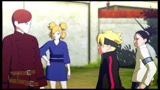 Gaara talks about Naruto with Boruto and Shikadai - Road to Boruto Game -  Naruto Shippuden  Storm 4