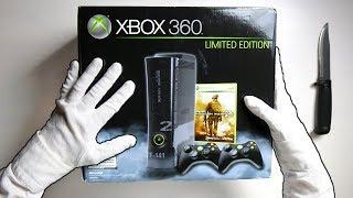 MW2 LIMITED EDITION CONSOLE UNBOXING! Call of Duty Modern Warfare 2 Xbox 360 Elite 250GB