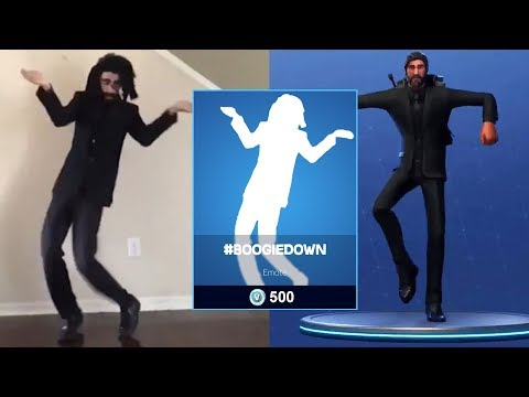 Best Of #boogiedown Contest || New Fortnite Emotes