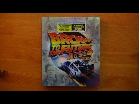 Back To The Future 30th Anniversary Trilogy Blu-ray Set