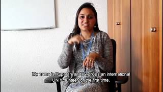 International UN Volunteer Rupmani Chhetri (India) serves in Ukraine as an Advocacy Specialist on Disabilities.