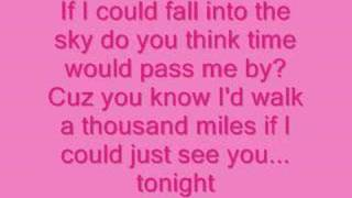 <b>Vanessa Carlton</b>A Thousand Miles Lyrics