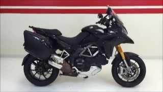 7. 2010 Ducati Multistrada 1200S Touring RARE BLACK