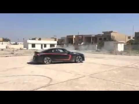 تفحيط جارجر SRT8 Drifting dodge charg-نادي جارجر