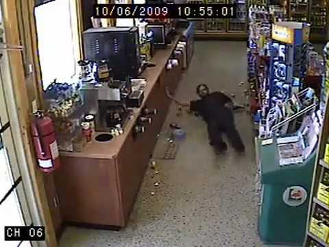 World Drunkest Guy Ever Goes For More Beer in the Store – very funny