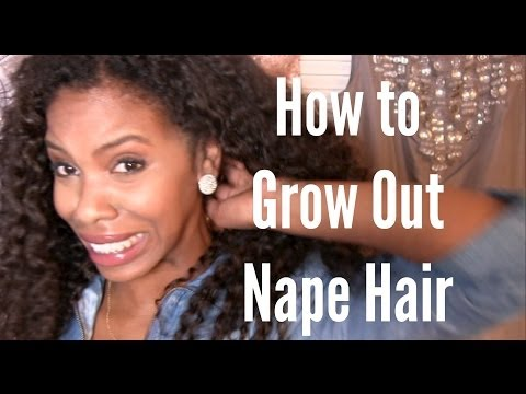 How to Grow Out Nape Hair
