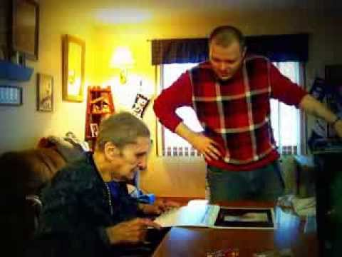 gift reaction funny - Grandma's Surprise Christmas Gift & Surprise Reaction.
