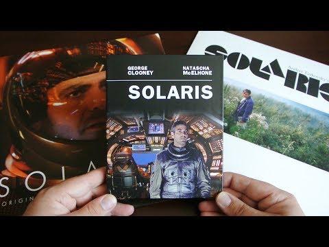 SOLARIS Blu-Ray Mediabook Filmconfect Essentials + Original Tarkowski/Soderbergh + Vinyl Soundtrack
