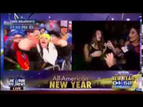 "Fox News New Year 2014: Two Drunk Girls: ""We're Gonna F*ck Sh*t Up!"""