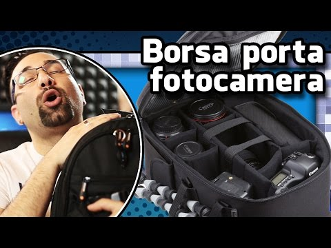 Unboxing Borsa porta fotocamera