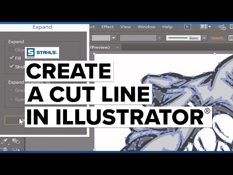 Creating A Cutline In Adobe Illustrator
