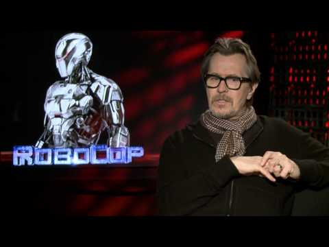 RoboCop 2014: Gary Oldman Official Movie Interview