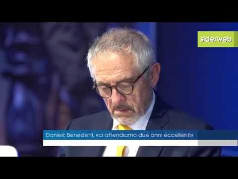 Danieli Spa (Acciaio): il presidente Benedetti, «ci attendiamo due anni eccellenti»