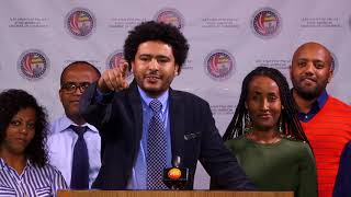 Ethio-American Chamber of Commerce Press Release Live from Washing