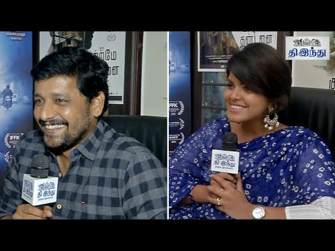 Vidharth-Pooja-Devariya-Talks-About-Kutrame-Thandanai-Tamil-The-Hindu