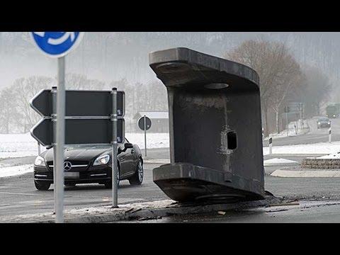 Allendorf: Lkw verliert 17-Tonnen-Teil