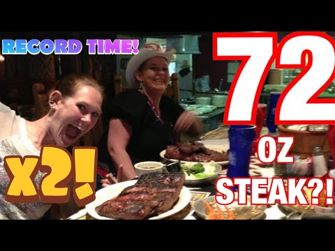 Molly Schuyler vs The Big Texan 72 oz steak challenge