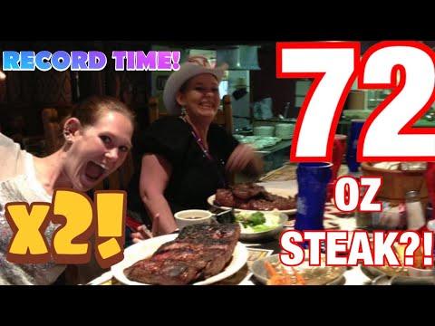 Molly Schuyler vs The Big Texan 72 oz steak challenge