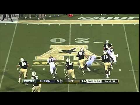 Blake Bortles vs Akron 2013 video.