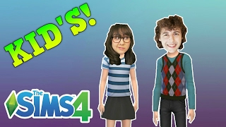 Sims 4 | YOUTUBER KIDS! | Stampy Longnose & StacyPlays!