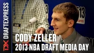 Cody Zeller - 2013 NBA Draft Media Day Interview