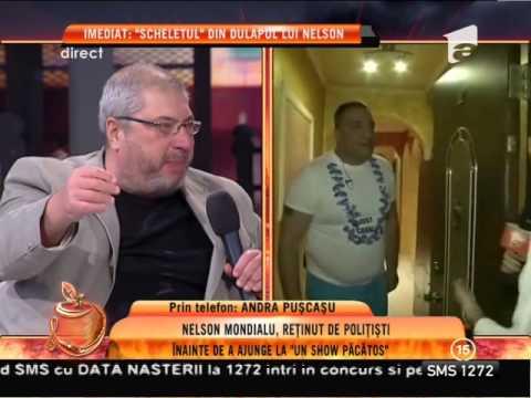 Nelson Mondialu, reţinut de poliţie înainte de a ajunge la emisiunea