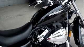 9. 2013 Honda Shadow 750 RS SALE VT750RS Video Walk Around at Honda of Chattanooga - Black