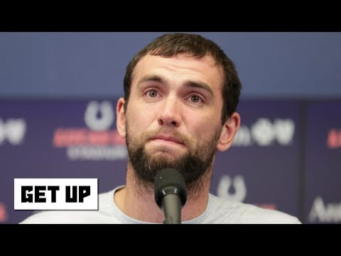 Video: Should Andrew Luck be criticized for retiring 2 weeks before the Colts' season? | Get Up