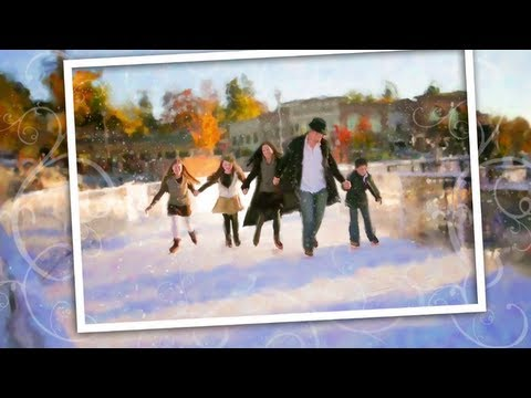 Amazing Holiday eCard is an Excellent Example of Hybrid Photography