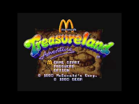 McDonald's Treasure Land Adventure Music: Alien Ship
